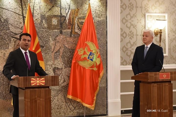 Zaev u poseti Crnoj Gori, održana i zajednička sednica dve vlade