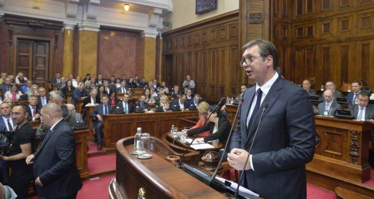 """Opozicija bojkotuje Vučićevu """"gorku istinu"""" o Kosovu"""