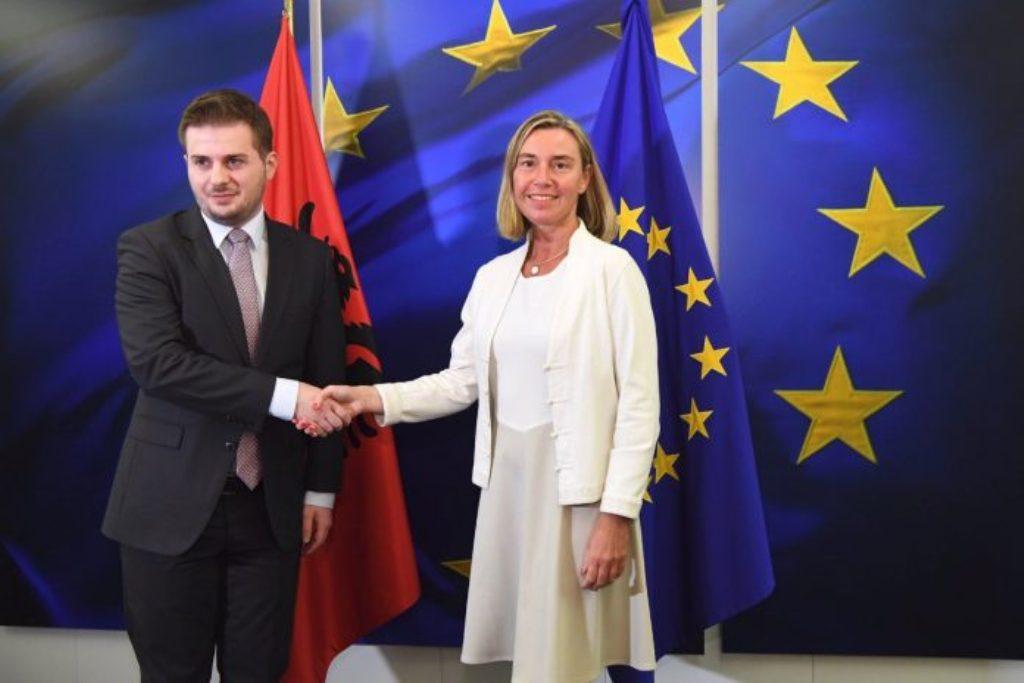 Albanija je spremna otvoriti pregovore o pristupanju, kaže šefica diplomatije EU