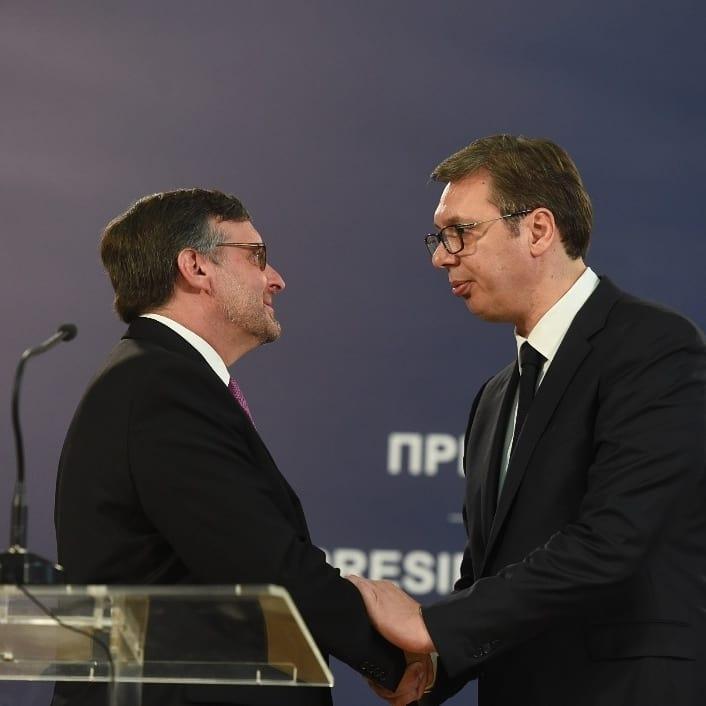Razgovori sa SAD nisu laki, kaže Vučić