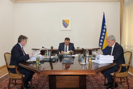 Predsedništvo BiH nije se složilo oko migrantske krize