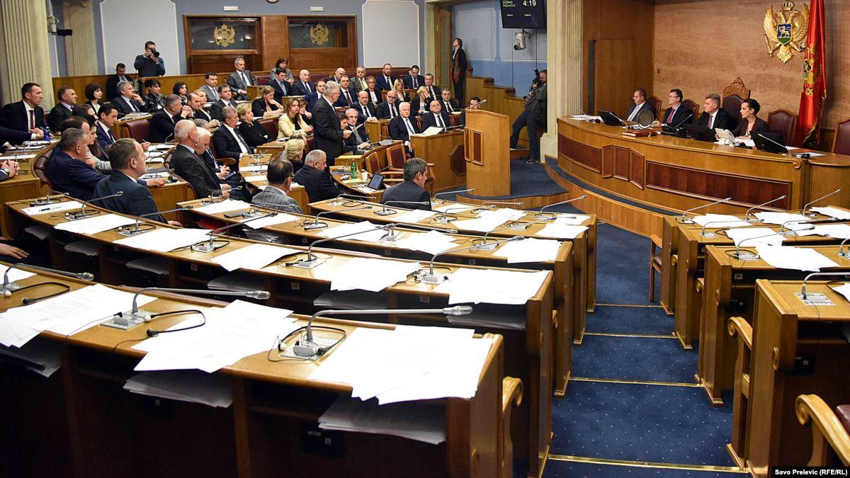 Skupština Crne Gore raspravlja o predlogu strategije odbrane