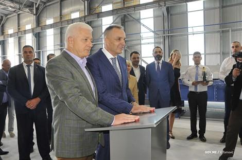Otvorena fabrika silumina u Crnoj Gori