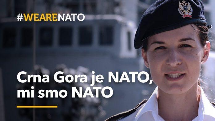 """Kampanja """"Mi smo NATO"""" pokrenuta u Crnoj Gori"""