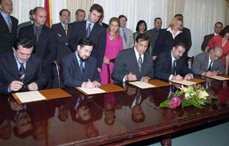 18. godišnjica Ohridskog okvirnog sporazuma