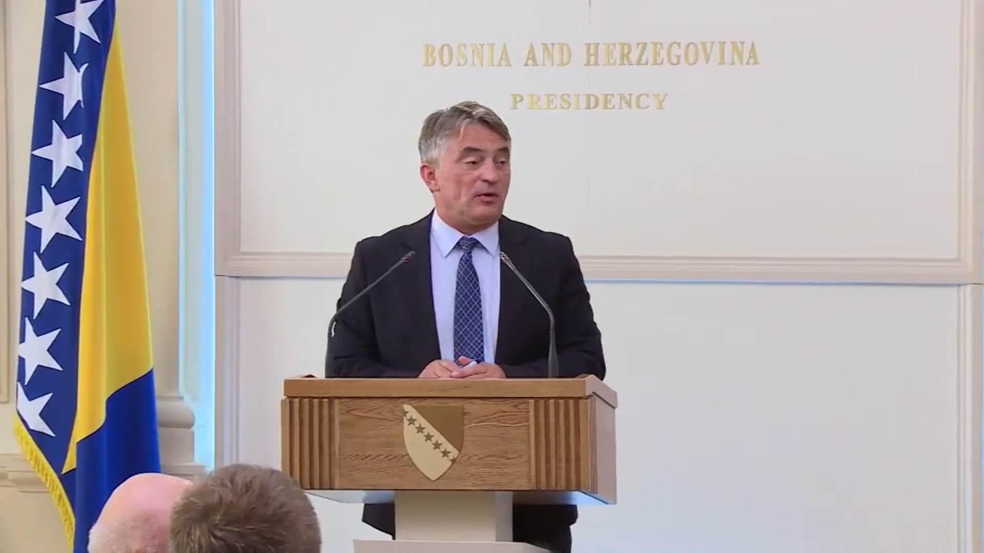 BiH : Zakon o javnim nabavkama BiH se mora uskladiti s evropskim standardima, kaže Komšić