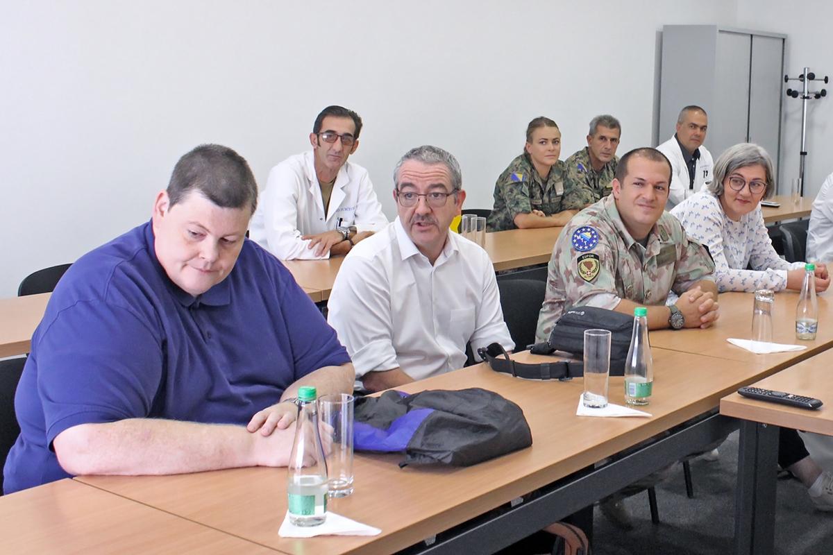 Održana radionica o upravljanju skladištima oružja i municije