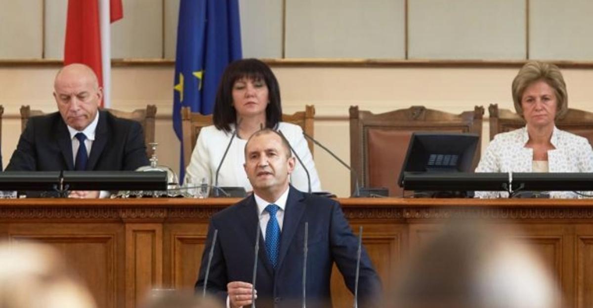 Predsednik izneo parlamentu predloge kako da Bugarska postane normalna evropska zemlja