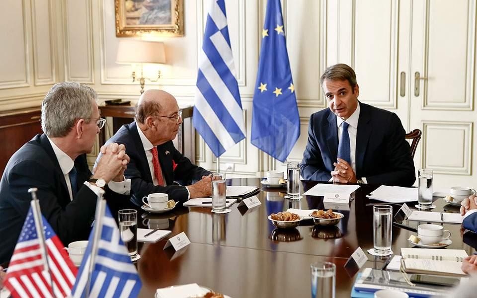Mitsotakis i Ross razgovarali o ulaganjima i saradnji