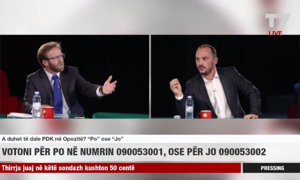 Politička debata na Kosovu postaje nasilna
