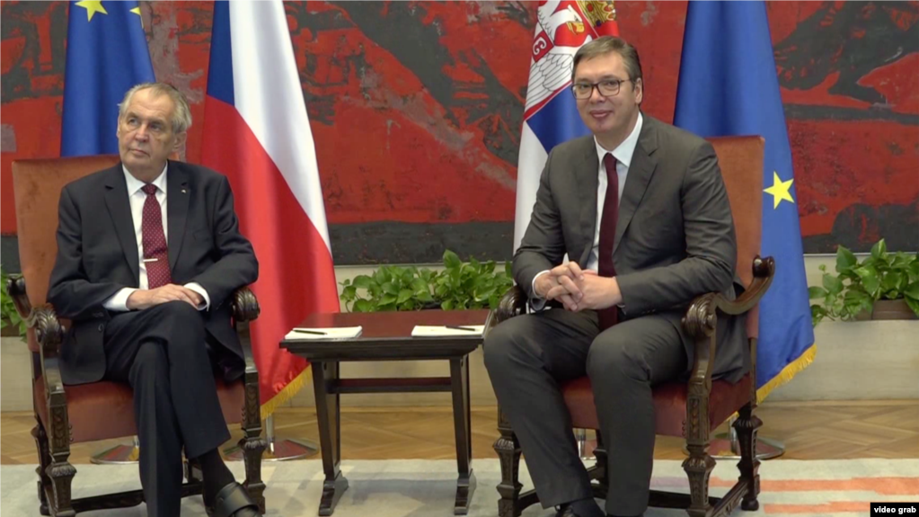Češki predsednik želi da preispita priznanje Kosova – protivljenje u Pragu