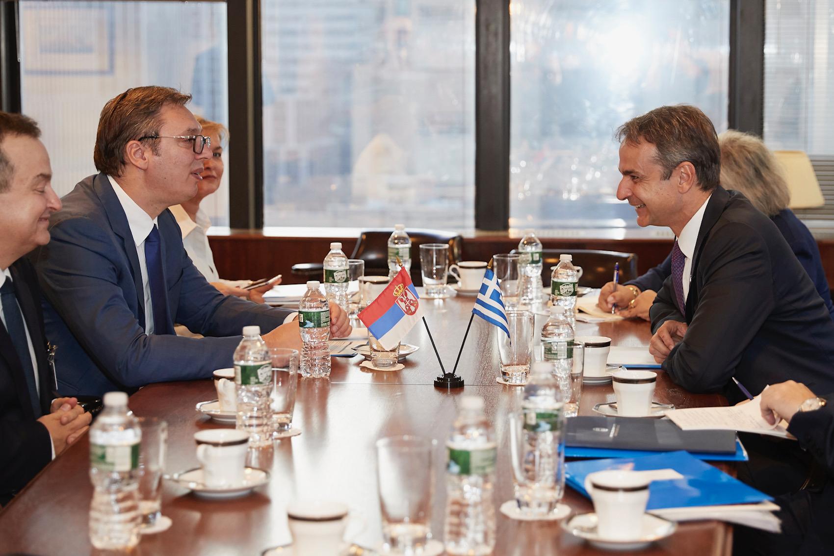 """Ekskluzivno: Vučić """"Zamolio sam gospodina Mitsotakisa da ne prizna Kosovo i dobio sam pozitivnu reakciju"""""""