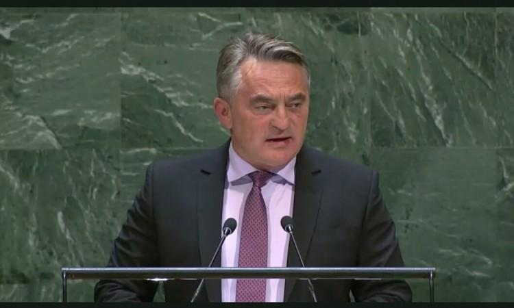 Član predsedništva BiH Željko Komšić se obratio Generalnoj skupštini UN