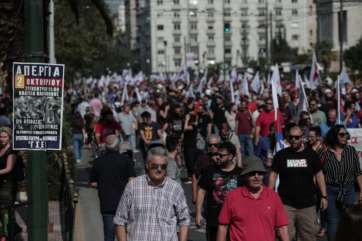 """Mitsotakis udario na """"štrajkačku manjinu""""; opozicija oštro reagovala na stavove premijera"""