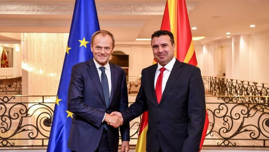Zaev veruje da će EU otvoriti vrata Severnoj Makedoniji, Mickoski skeptičan