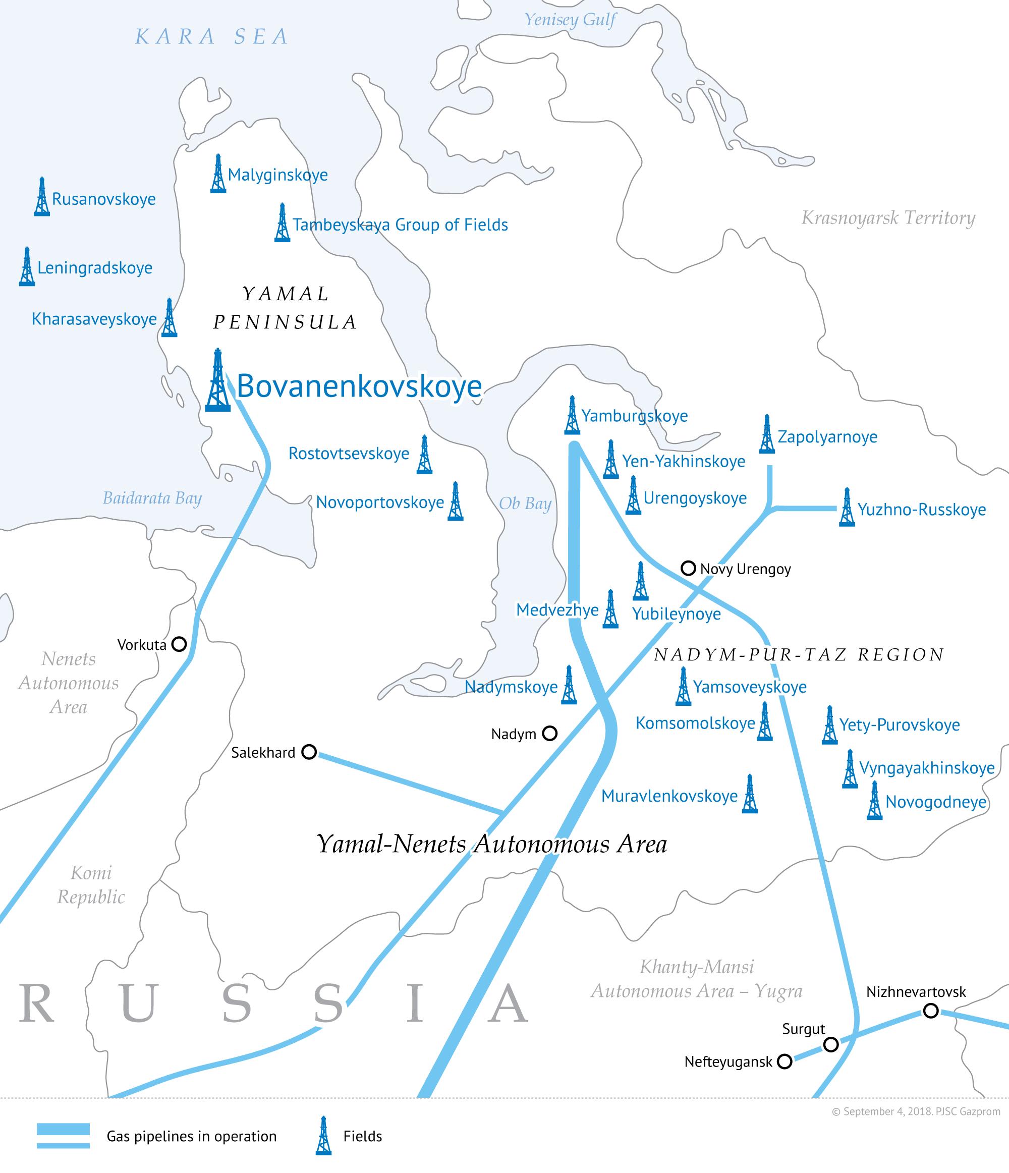 Gazprom širi krila prema istoku