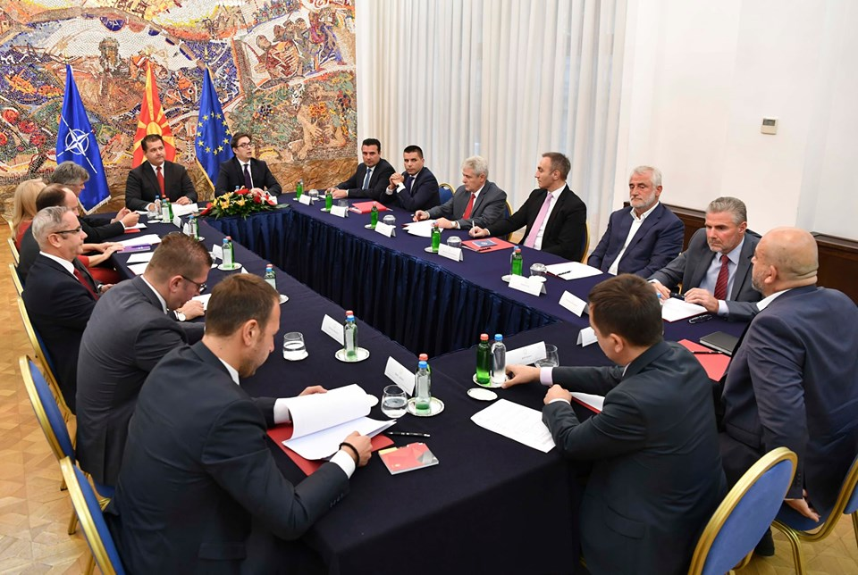 Prevremeni izbori u Severnoj Makedoniji 12. aprila 2020. godine
