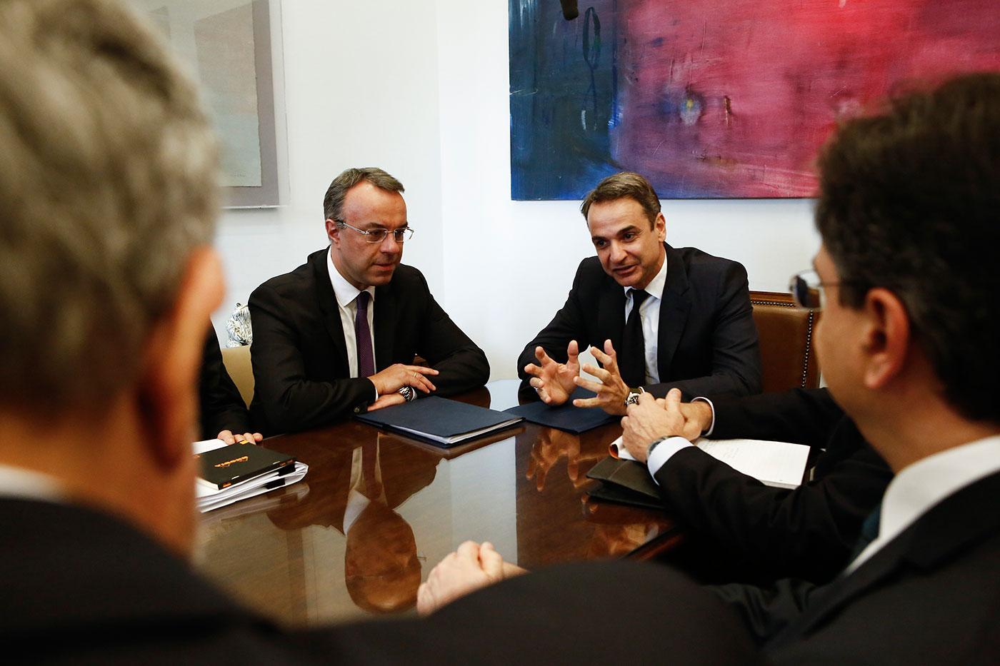 Grčki premijer sa šefovima banaka