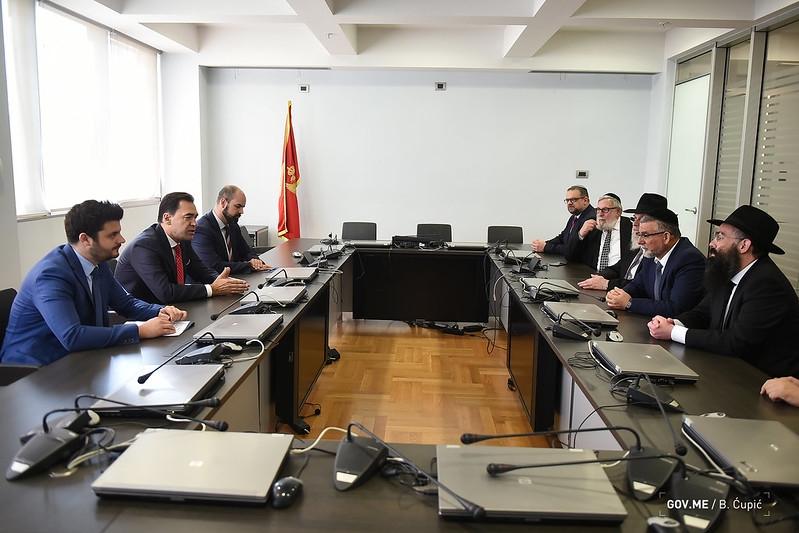 Pažin: Crna Gora je ponosna na tradicionalno prijateljstvo sa jevrejskim narodom