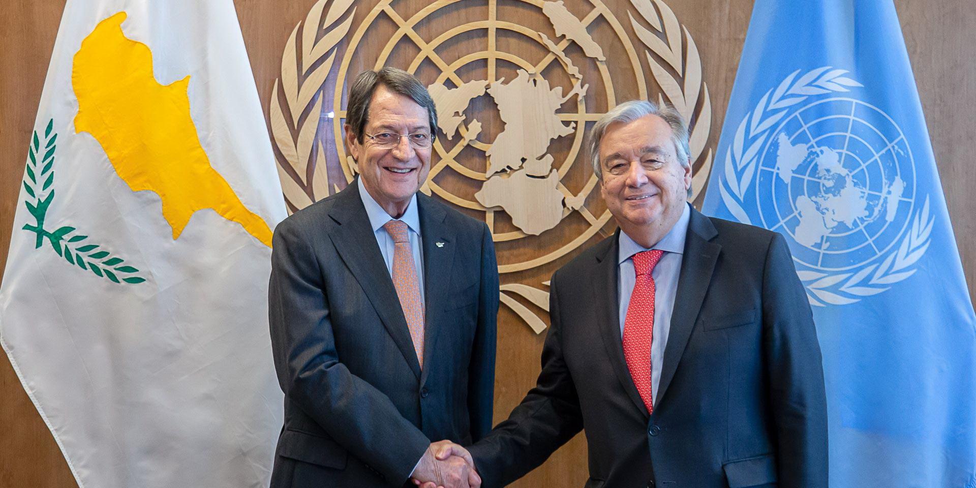 Kipar: Anastasiades i Guterres razgovarali telefonom