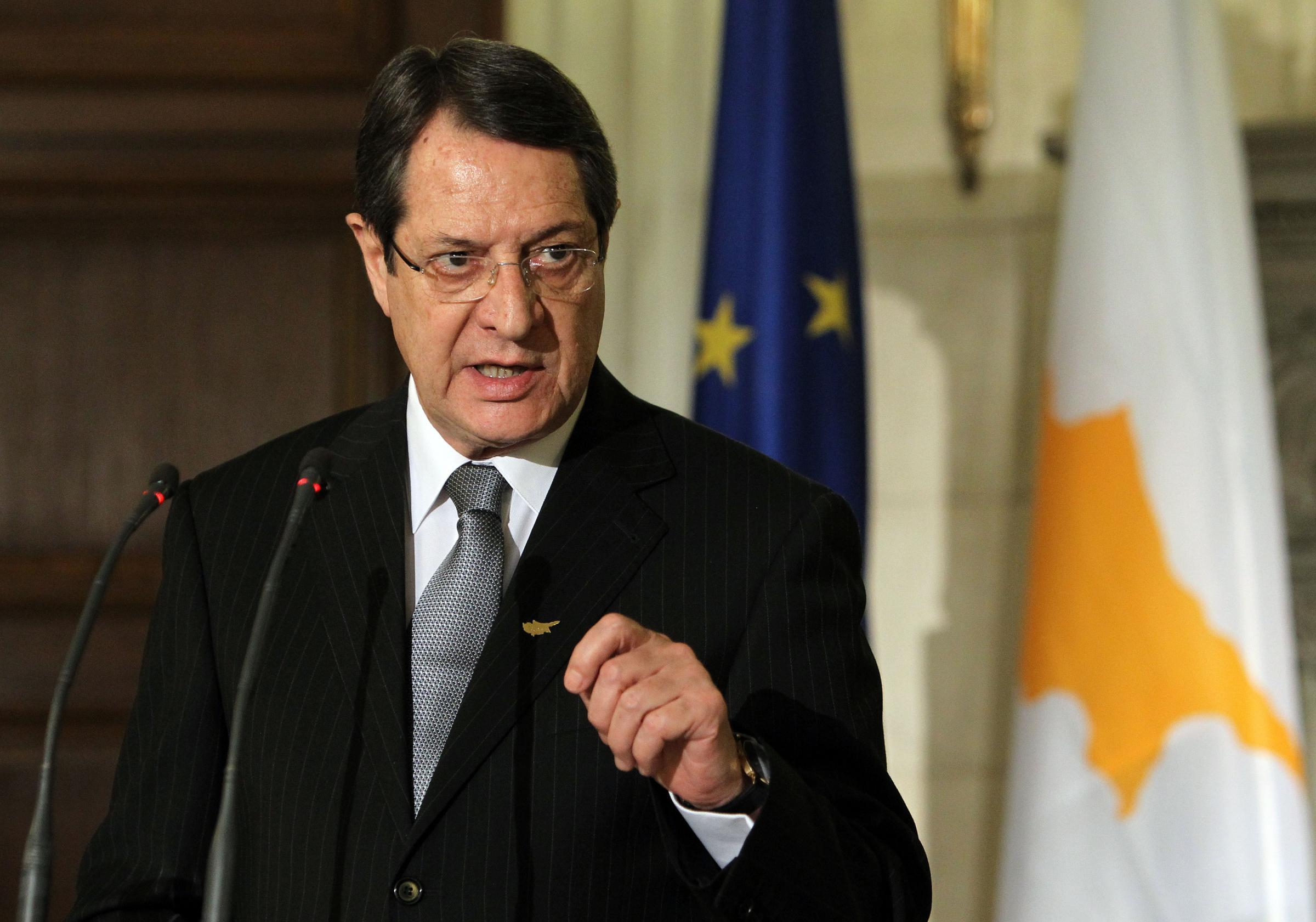 """Kiparski predsednik Anastasiades: """"Ostajem privržen rešenjima koja su u skladu sa principima međunarodnog prava"""""""