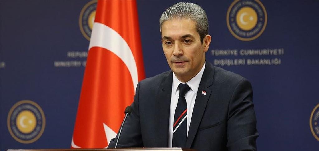 Portparol turskog Ministarstva spoljnih poslova odgovorio na izjave grčkog premijera