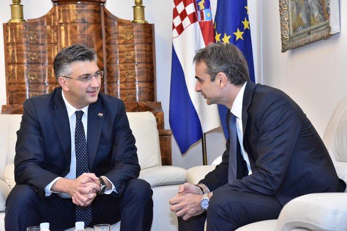 Grčki premijer se u Zagrebu sastao sa hrvatskim kolegom