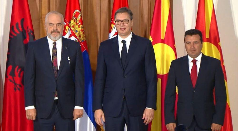 Vučić: Dogovoreno jedinstveno tržište rada između Srbije, Albanije i Severne Makedonije