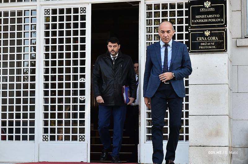 Ambasador Srbije odbio da primi protestnu notu Crne Gore