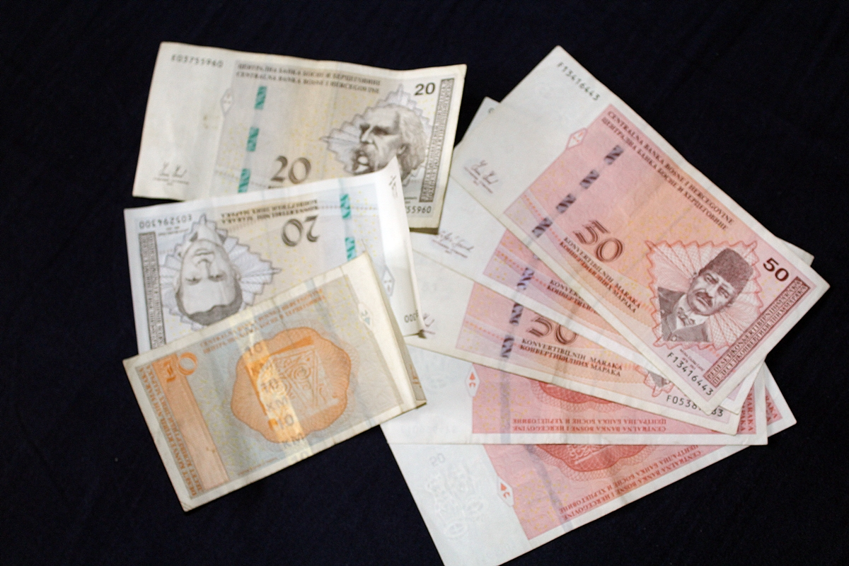 BiH: Smanjen broj fasifikata konvertibilne marke u 2020. godini