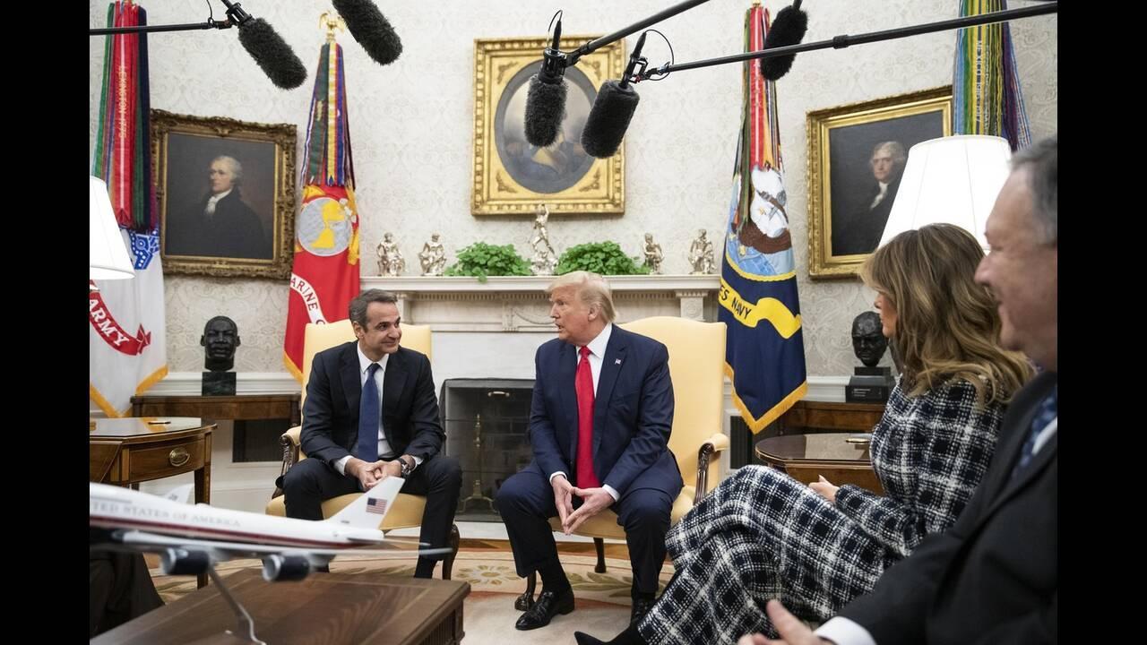 SIRIZA: Mitsotakisova poseta Beloj kući je posebna vrsta fijaska