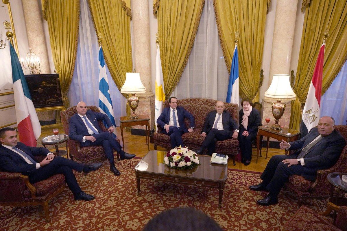 Pet ministara iz Kaira poslali poruku Ankari