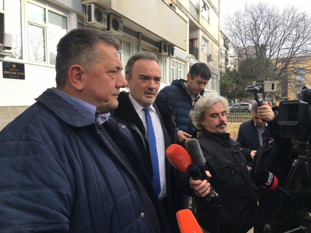 Crnogorski novinari nakon saslušanja pušteni na slobodu