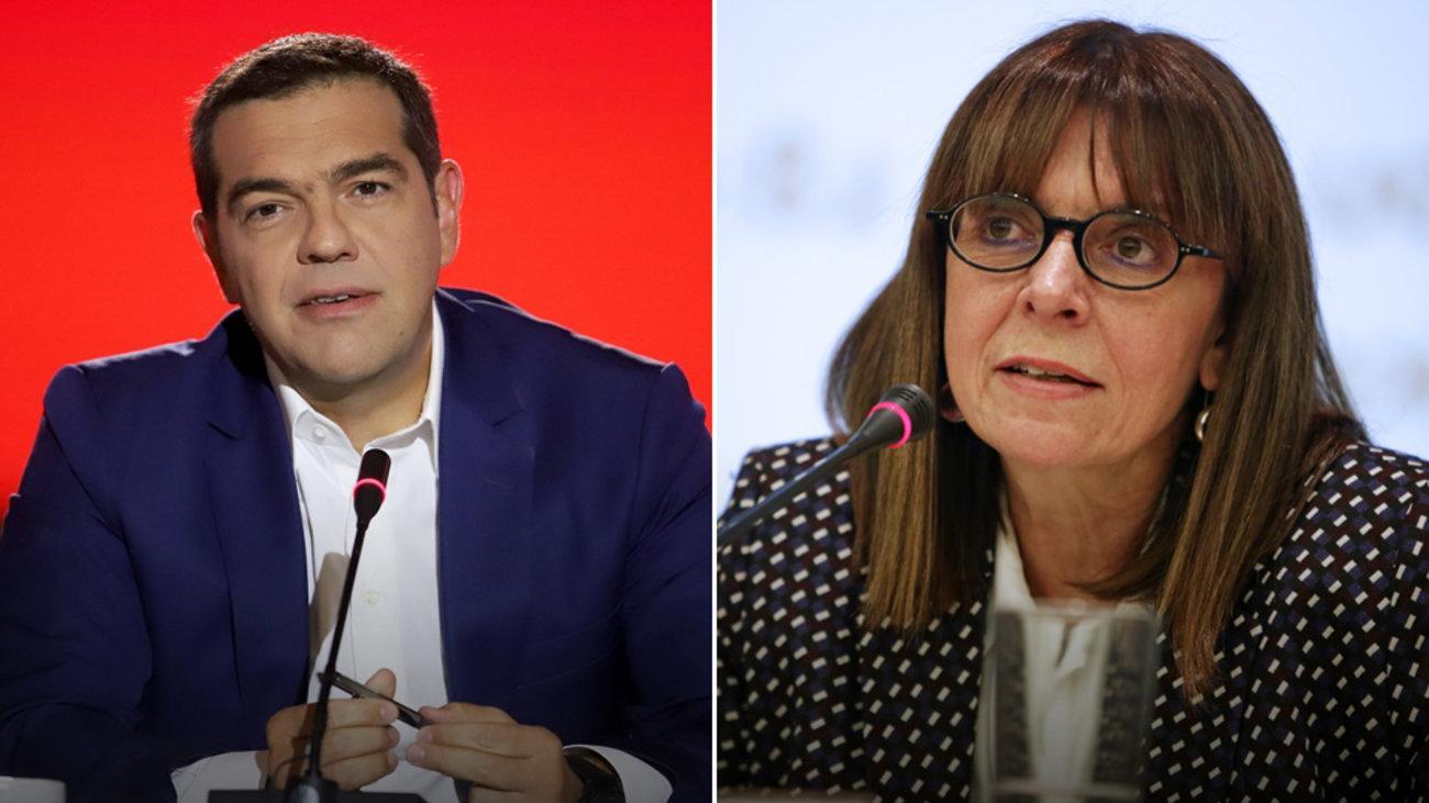 SIRIZA će podržati Ekaterini Sakellaropoulou