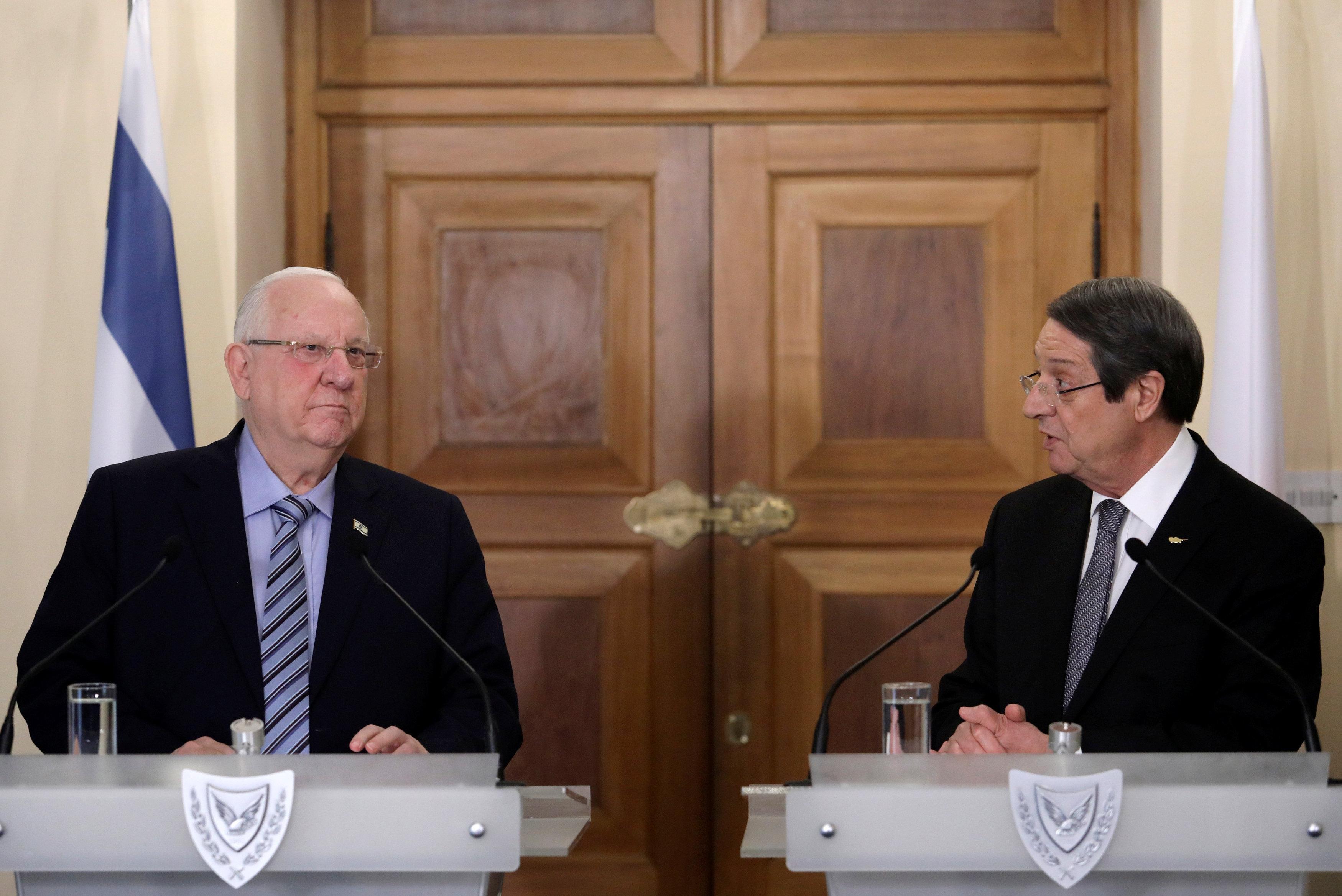 Anastasiades se sastao sa predsednikom Izraela