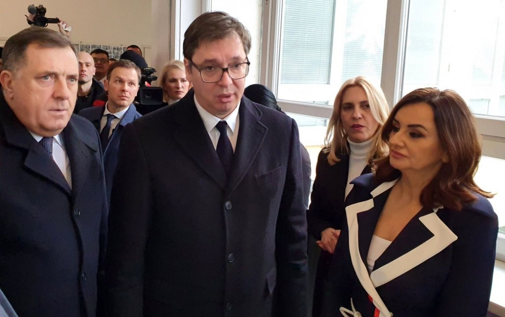 Vučić otvorio fabriku u Drvaru