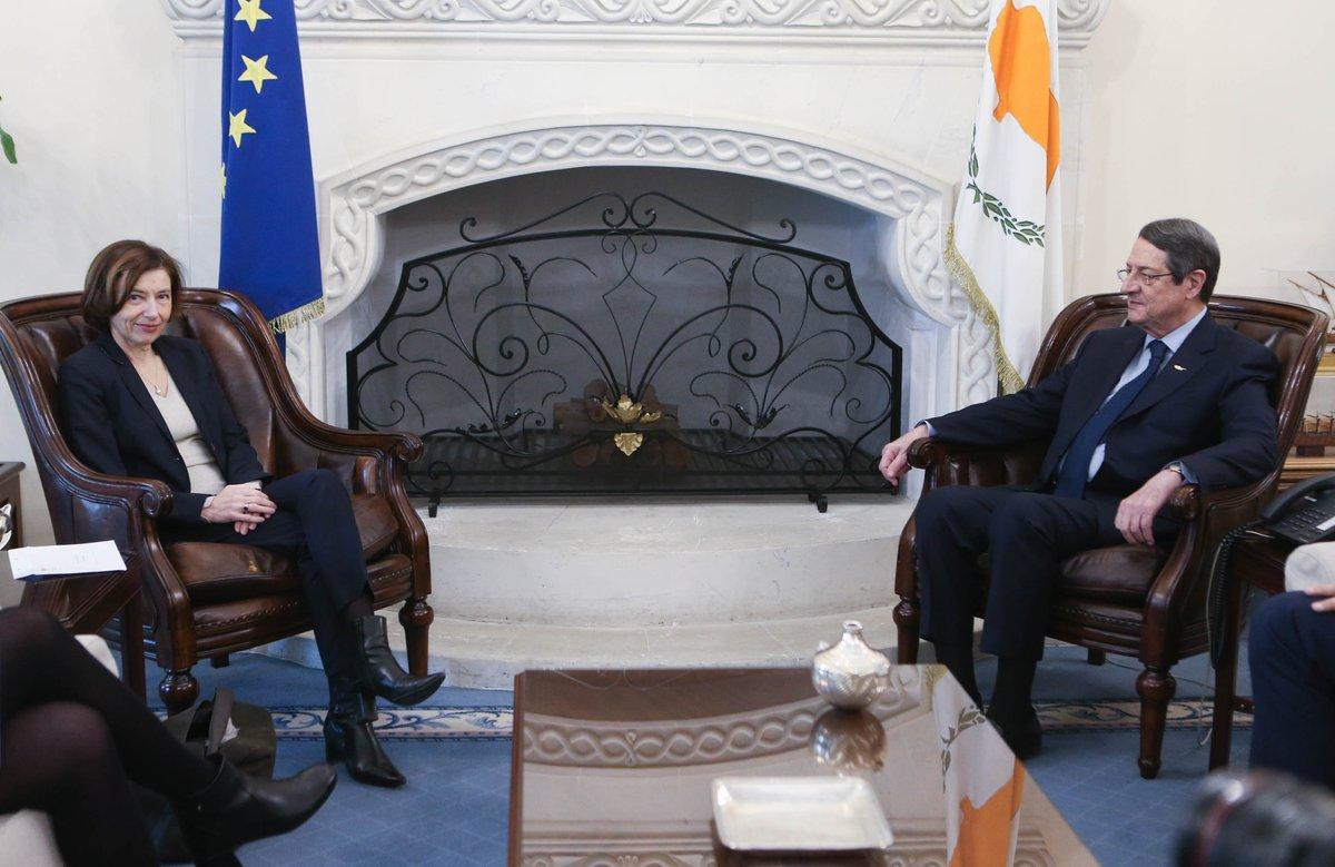 Kipar: Francuska ministarka odbrane izrazila solidarnost sa Kiprom