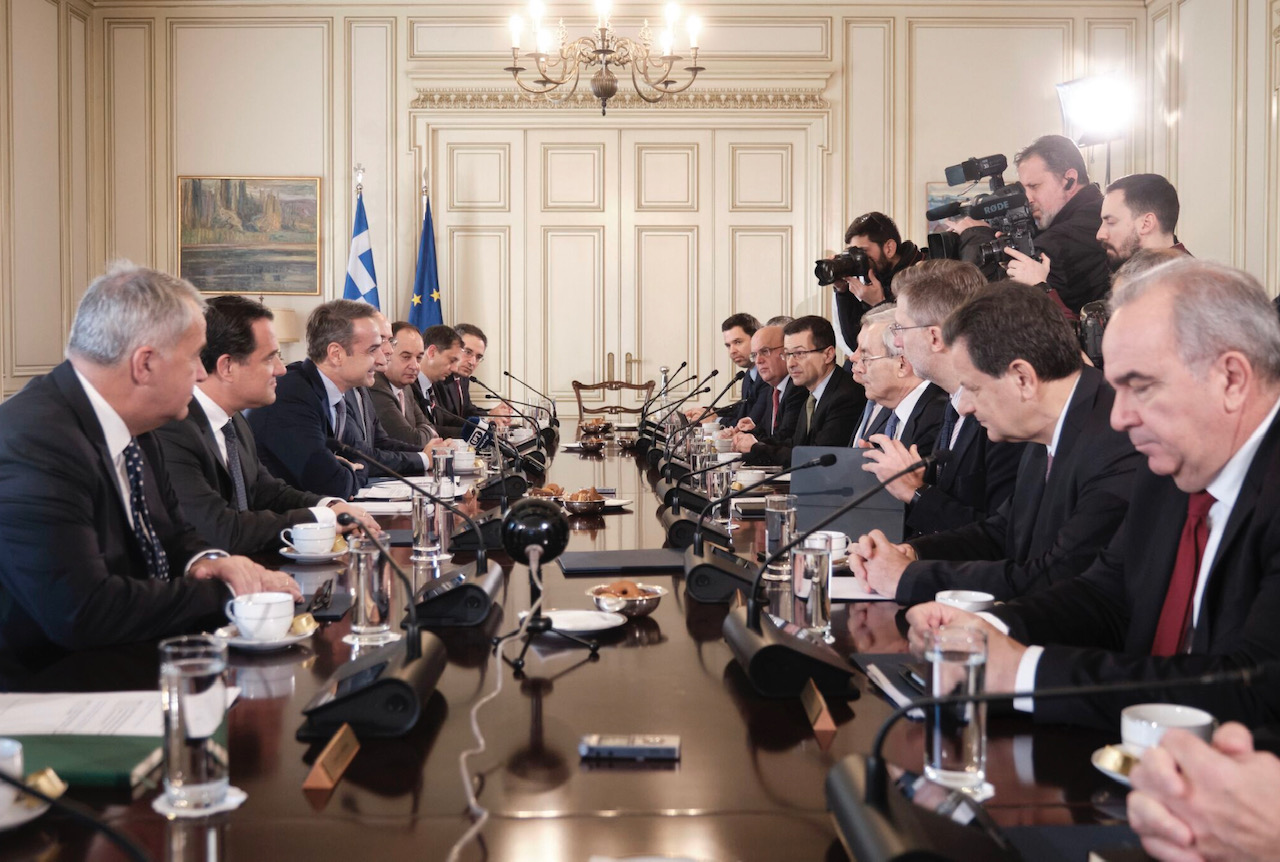 Grčka: Ključni aspekti razvoja ekonomske politike predstavljeni vladinom Savetu za ekonomsku politiku
