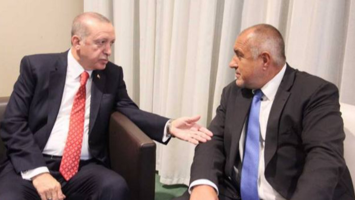 Bugarska: Borissov i Erdogan će imati radnu večeru u ponedeljak u Ankari