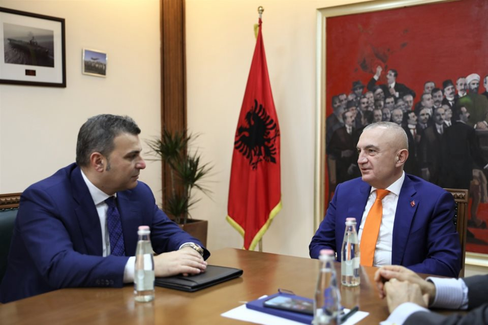 Albanija: Meta se sastao sa guvernerom Banke Albanije