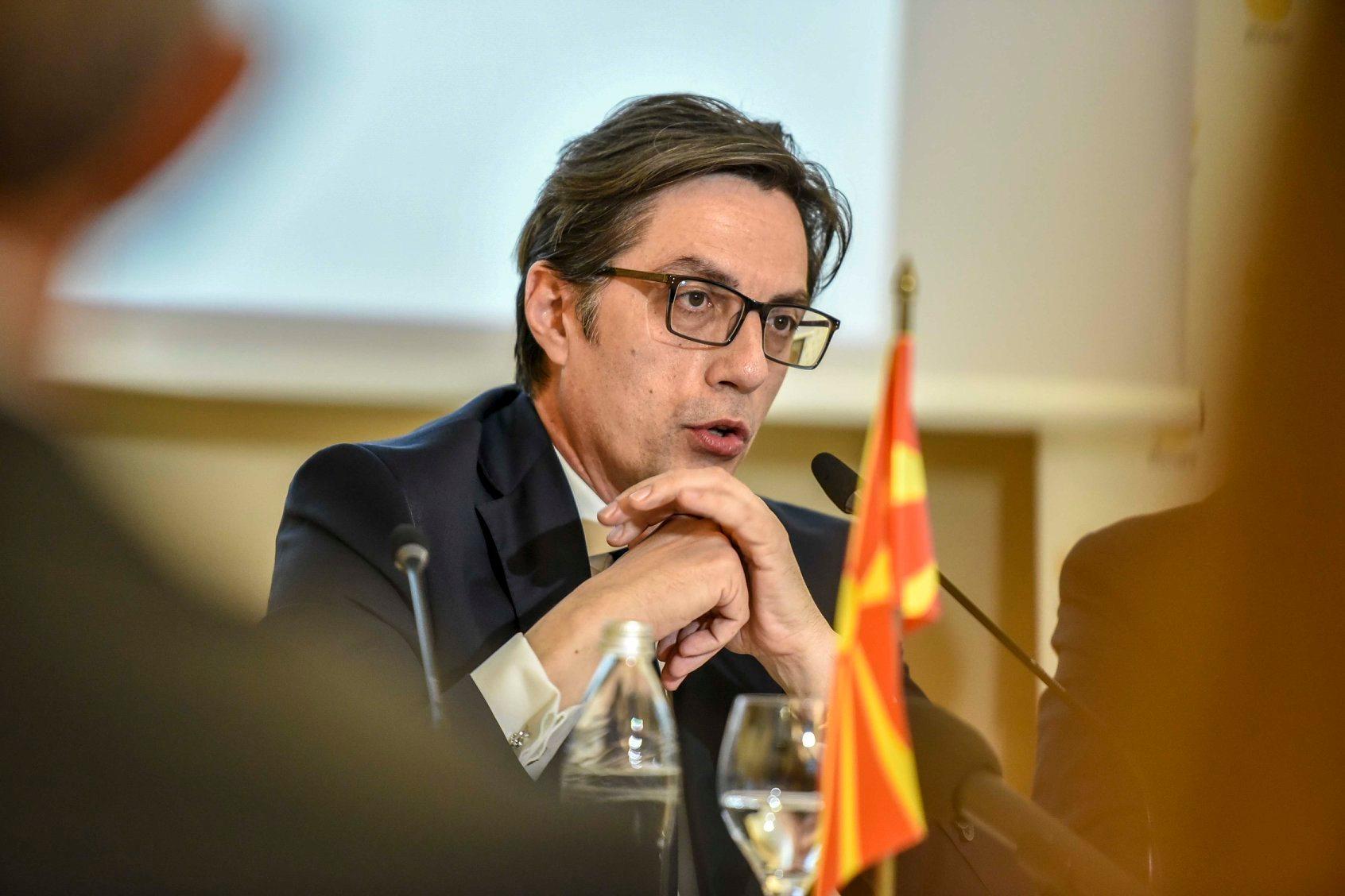 Pendarovski: Diskusija o promenama Ustava ili promenama sporazuma o dobrosusedstvu sa Bugarskom je besmislena