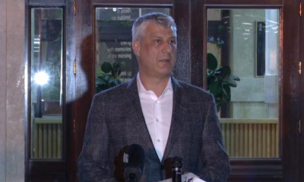 Kosovo: Thaci traži uvođenje vanrednog stanja