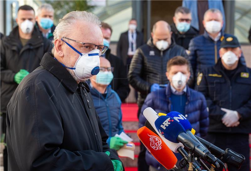 Novi potres i novi slučajevi koronavirusa u Hrvatskoj