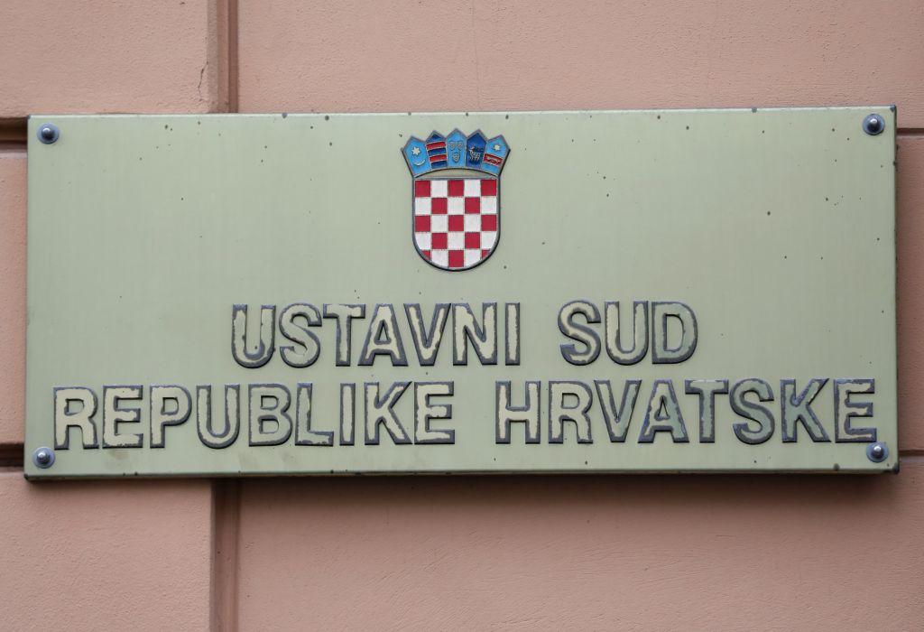 Hrvatska: Nema potrebe za intervenciju Ustavnog suda