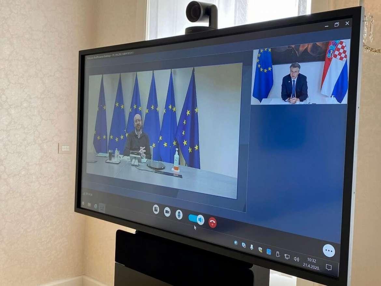 Hrvatska: Plenković razgovarao sa Michelom