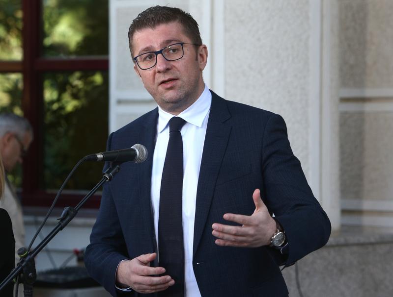 Severna Makedonija: Mickoski poziva Pendarovskog da sazove sastanak političkih lidera