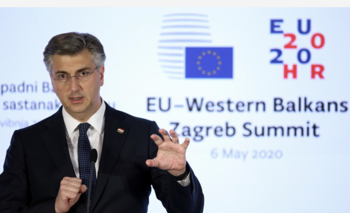 Plenković: EU stoji uz zemlje Zapadnog Balkana kako bi i pomogla na putu ka pristupanju