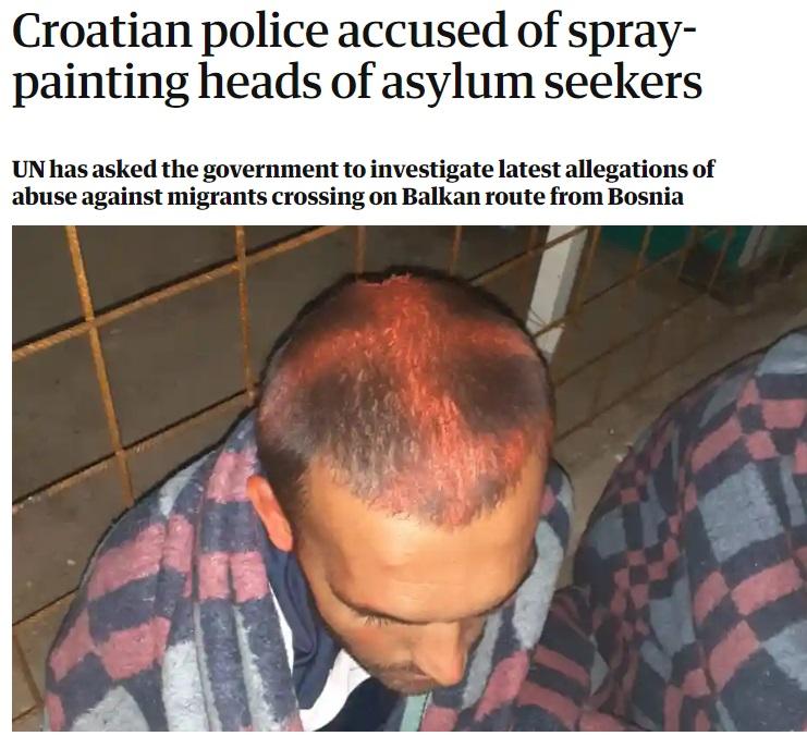 Hrvatska: MUP demantuje optužbe za nasilje nad migrantima