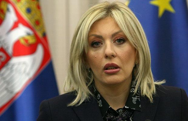 Srbija: Joksimović poslala pismo Evropskoj narodnoj partiji o događajima ispred Parlamenta
