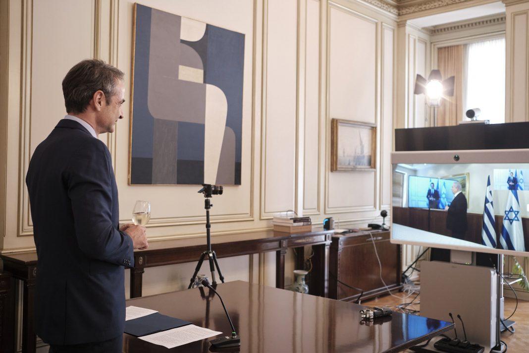 Grčka: Mitsotakis i Netanijahu razgovarali putem videolinka o turističkoj industriji